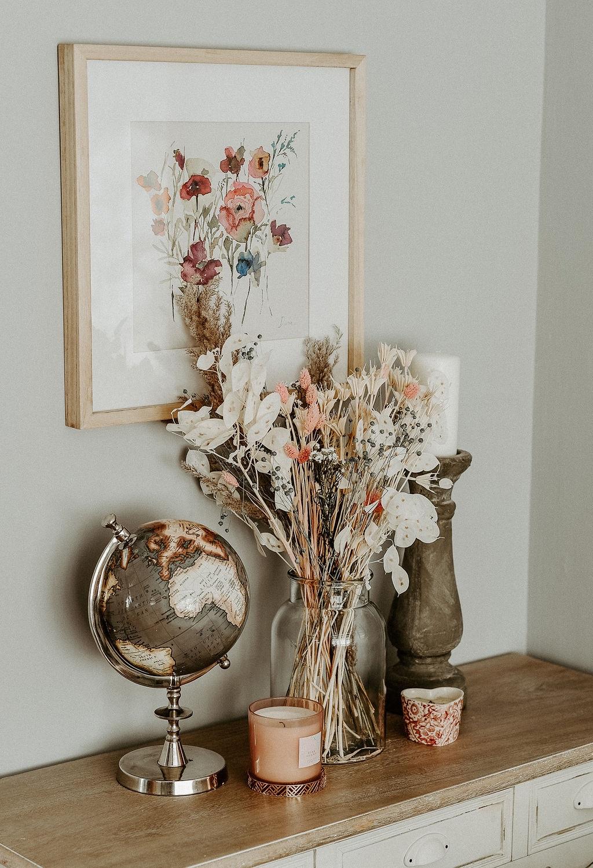 Daisy Meadow Dried Flower Bouquet