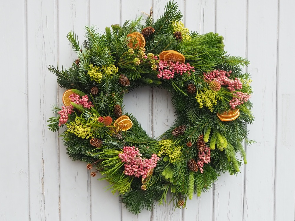 Ada Christmas Wreath (Deposit)