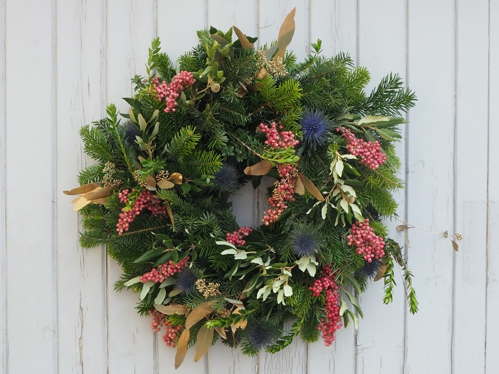 Adalaide Christmas Wreath (Deposit)