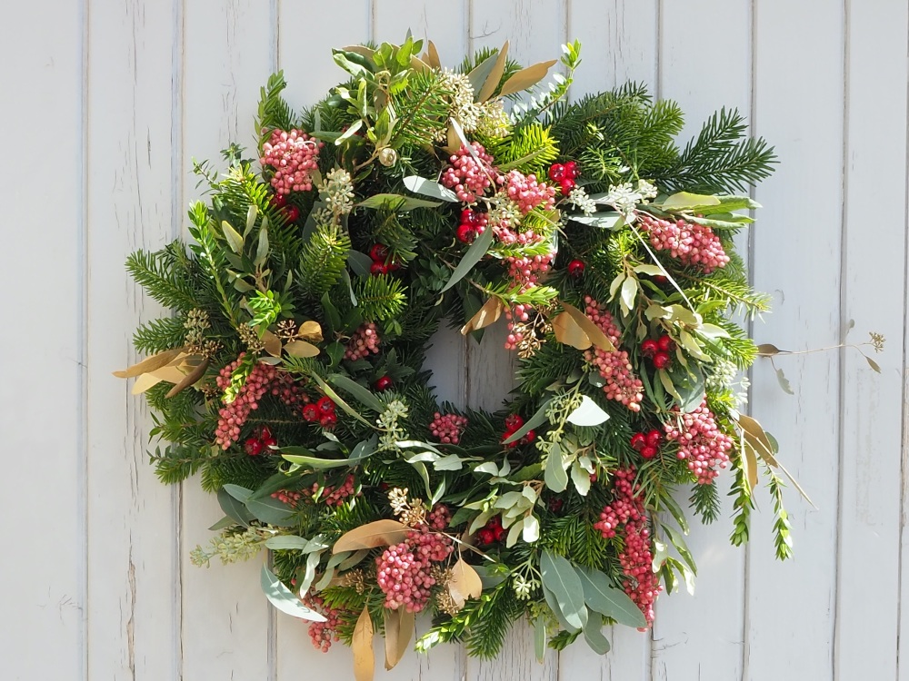 Cali Christmas Wreath (Deposit)