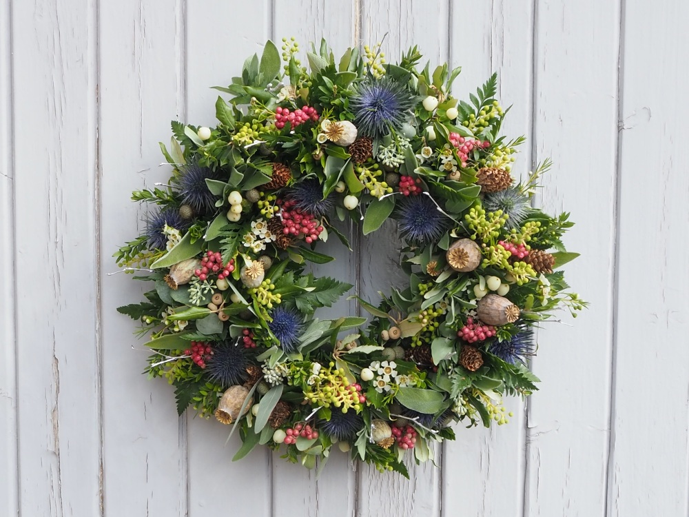Emery Christmas Wreath (Deposit)
