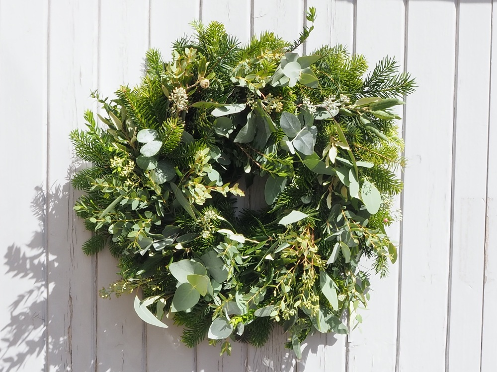 Christa Door Wreath (deposit)
