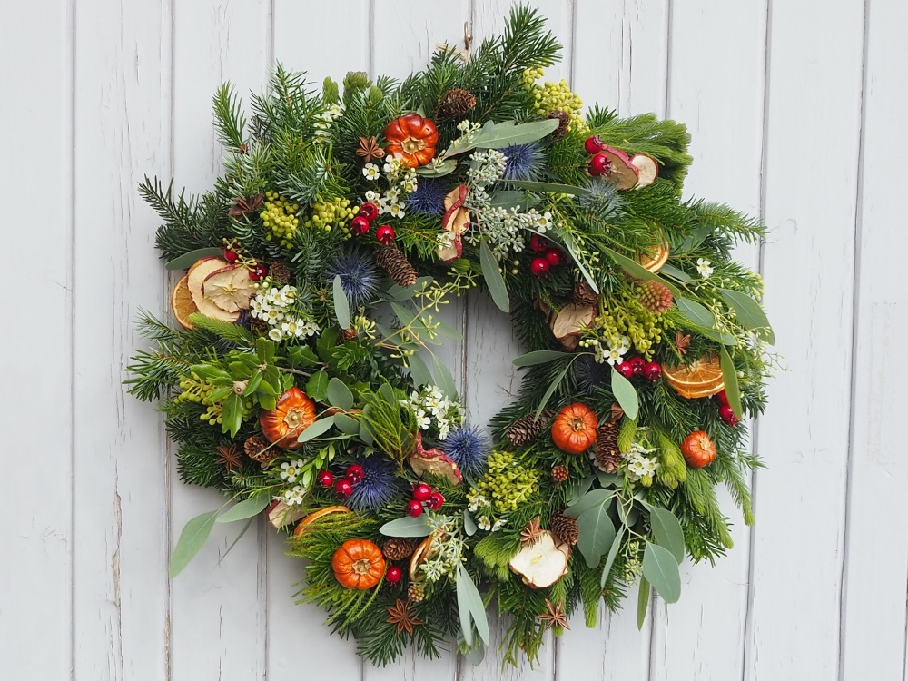 Hope Christmas Wreath (Deposit)
