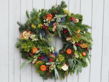 Hope Christmas Wreath (Deposit)