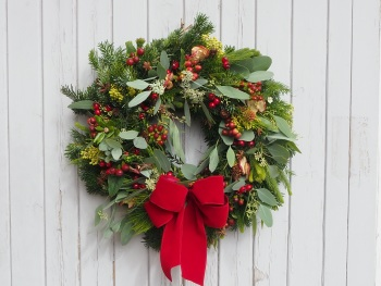 Juniper Christmas Wreath