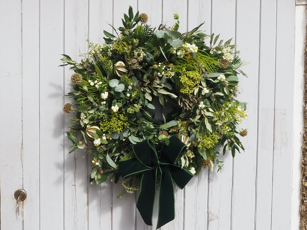 Nova Christmas Wreath (Deposit)
