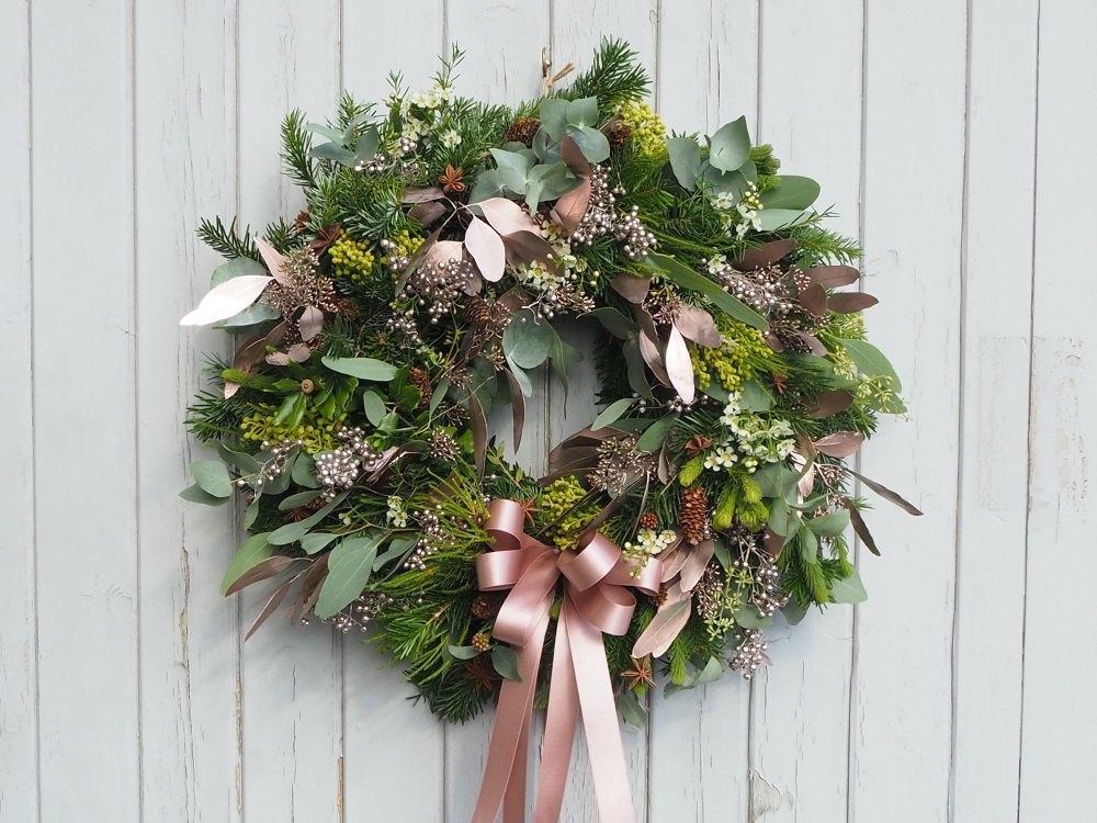 Eden Christmas Wreath (Deposit)