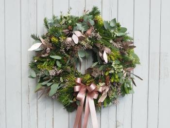 Eden Christmas Wreath (Deposit)