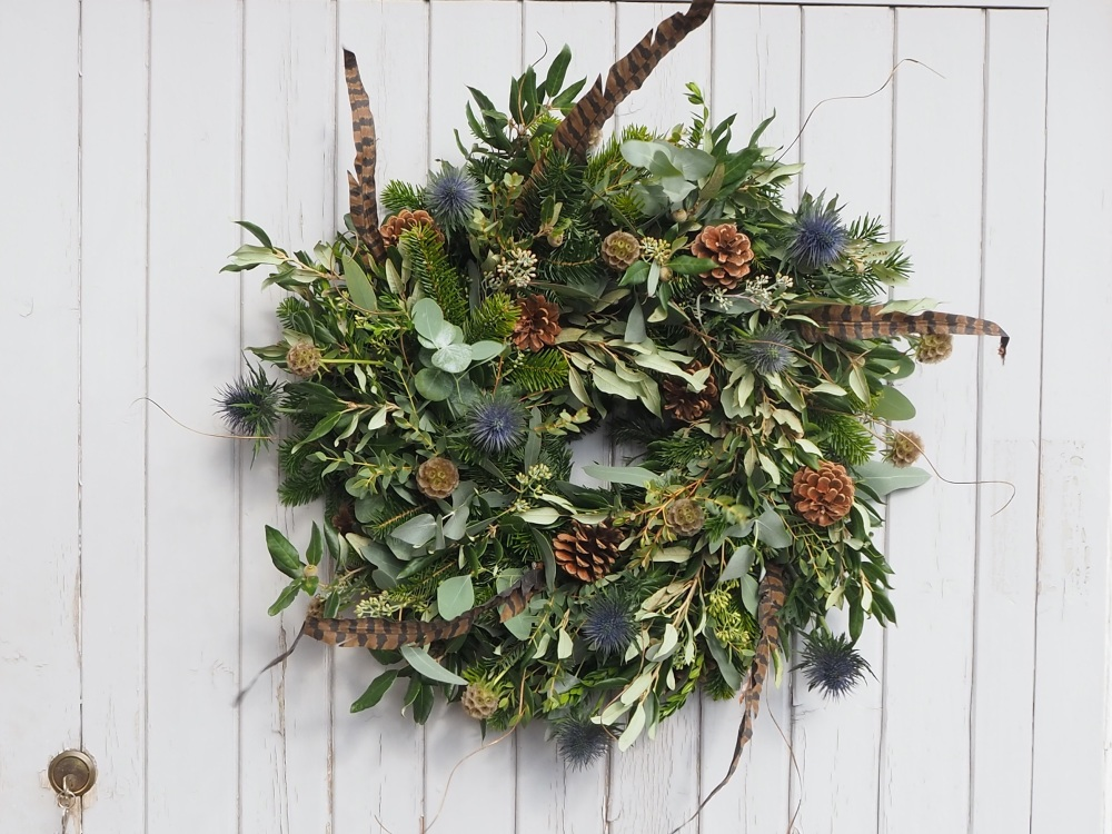 Payton Christmas Wreath (Deposit)