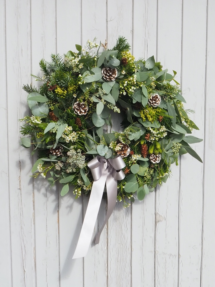 Sienna Christmas Wreath (Deposit)