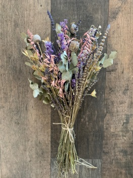 Late Summer Dried Flower Arrangement