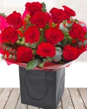 A Dozen Red Roses