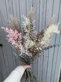 Dusky Field Dried Flower Bouquet