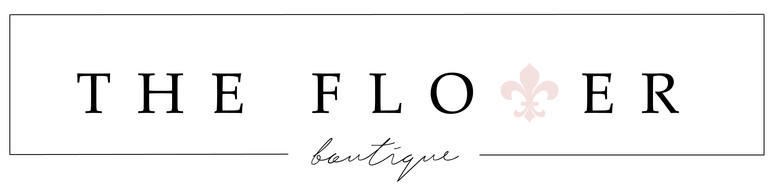 The Flower Boutique, site logo.