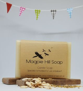 Gentle Soap (and formulated for babies from 1 month old)