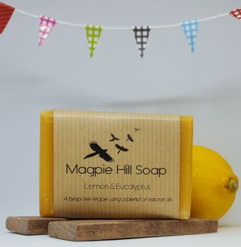 Lemon and Eucalyptus Soap