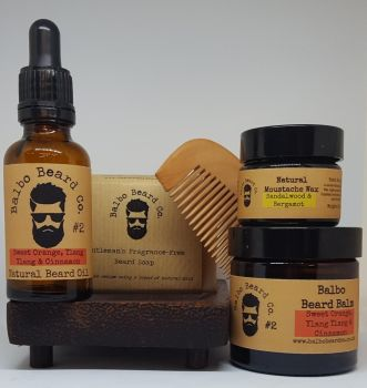 The Complete Balbo Beard Care Set