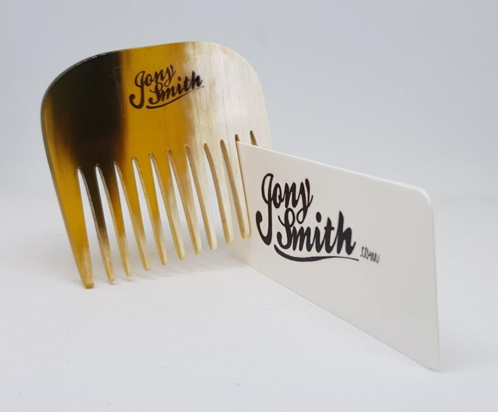 Jony Smith 'The Sheff' Ox Horn Beard Rake