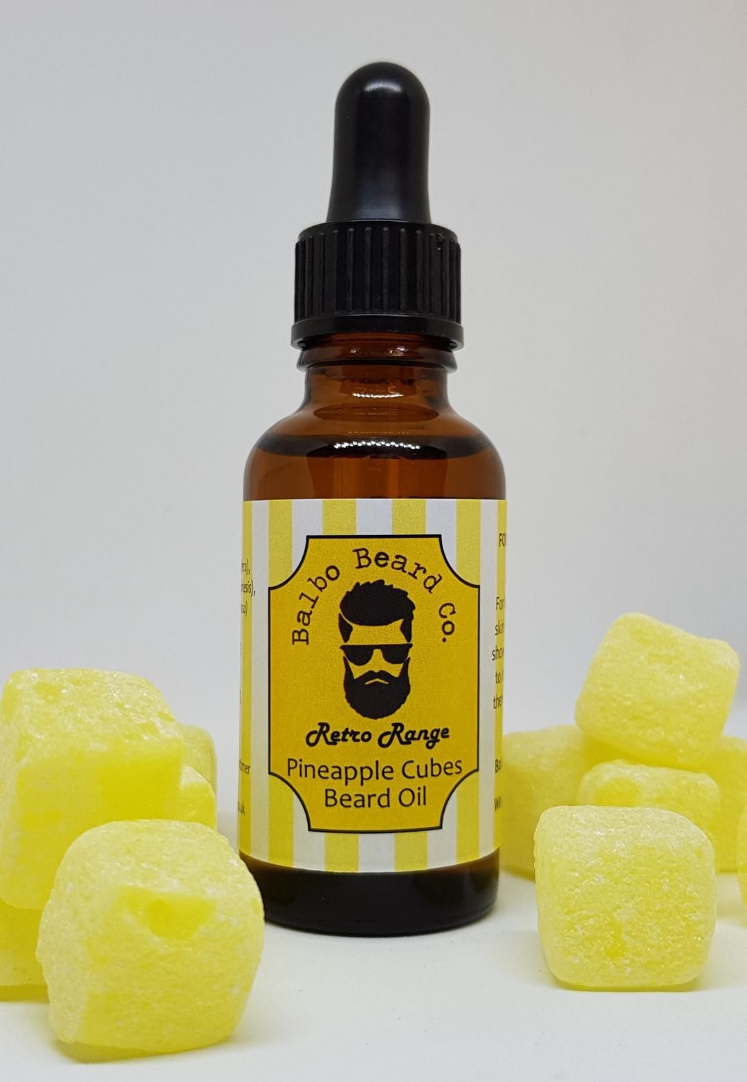 Pineapple Cubes Beard Oil 30ml