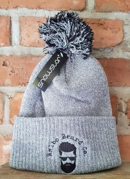 Grey Balbo Bobble Hat