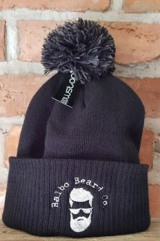 Black Balbo Bobble Hat