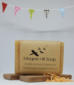 Sandalwood and Cedarwood Soap