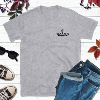 Balbo Beard Co Grey T-Shirt (Small Logo)