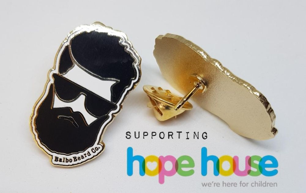 Hard Enamel Balbo Pin Badge