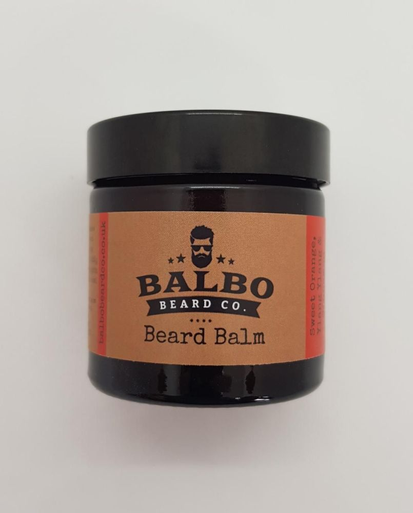 #2 Sweet Orange, Ylang Ylang & Cinnamon Beard Beard Balm (15ml or 60ml Jars