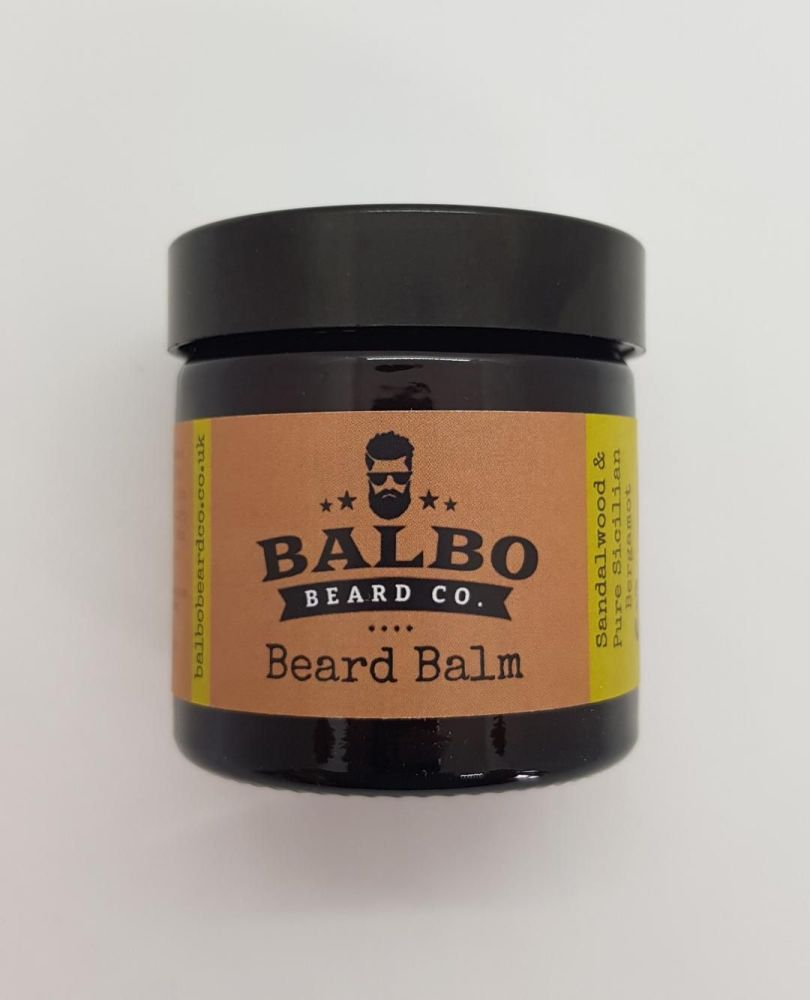 #3 Sandalwood & Pure Sicilian Bergamot Beard Beard Balm (15ml or 60ml Jars)