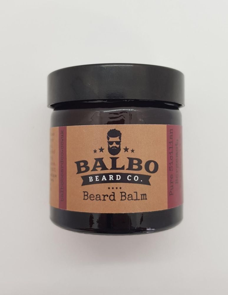 #5 Patchouli, Pure Sicilian Bergamot & Sandalwood Beard Balm (15ml or 60ml