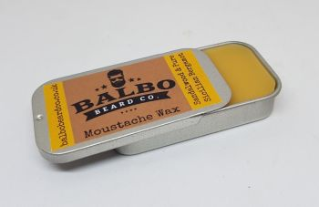 Natural Moustache Wax Tin 20g - Sandalwood & Bergamot