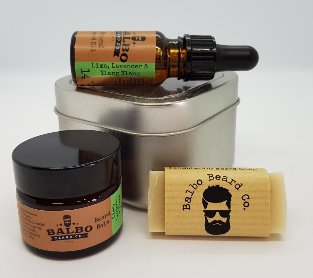Travel Beard Care Set