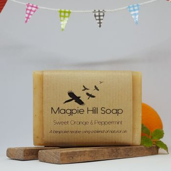 Sweet Orange & Peppermint Soap