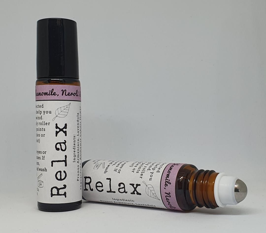 Relax - Aromatherapy pulse point oil