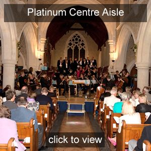 Nicola Benedetti<br>Centre Aisle seats<br>Platinum Friend