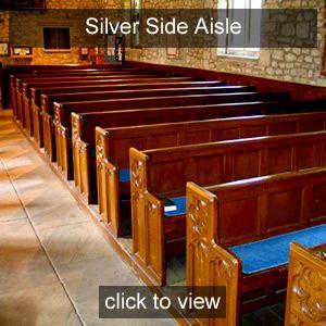 Nicola Benedetti <br>Side Aisle Seats <br>Silver Friend