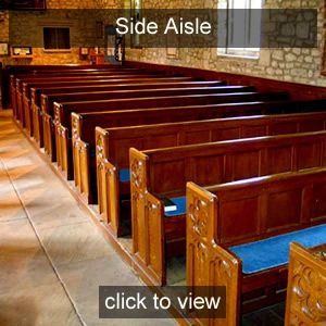 Stabat Mater<br>Side Aisle seat<br>Ruby Friend