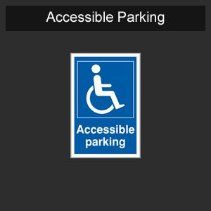 Finished & Unfinished<br>Disabled parking space<br>Silver Friend