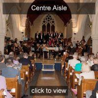 Pegasus Choir Centre Aisle seat Gold Friend