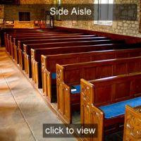 Pegasus Choir Side Aisle seat Gold Friend