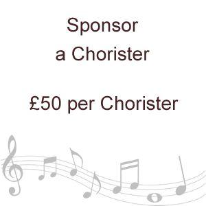 Sponsor Chorister