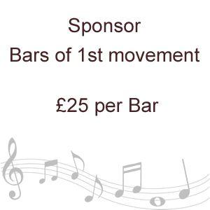 Sponsor Bars of 1st movement