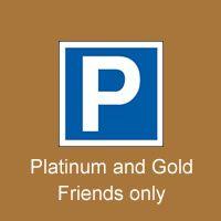 Howard Shelley 70th Birthday Concert Parking Gold or Platinum Friend