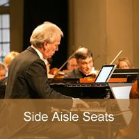 Howard Shelley 70th Birthday Concert Side aisle seat
