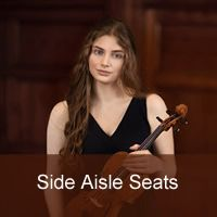 <!-- 002 -->Shoshanah Sievers<br /> Performs Bruch<br /> Side aisle seat