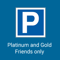 Craig Ogden Friday 19 November 2021 Parking Platinum or Gold Friend
