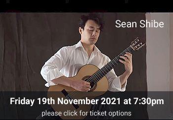 7 Sean Shibe<br>Friday 19 November 2021
