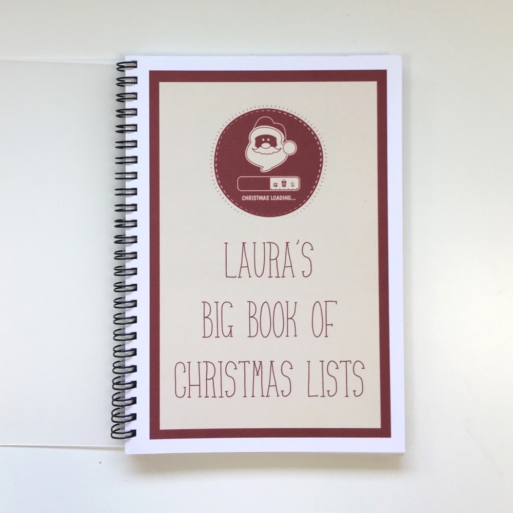 Christmas Lists - personalised