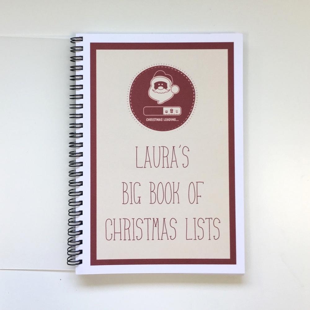 Christmas Lists - personalised